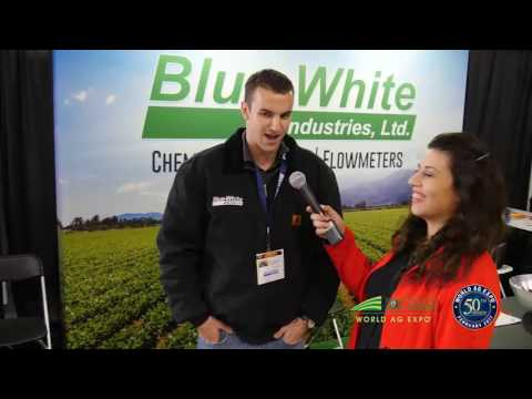 Blue-White Industries at the World Ag Expo 2017