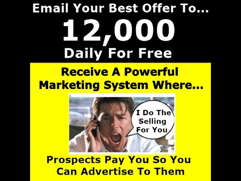 Bulk Email Marketing Lists | Email Your BEST OFFER To 12k Daily For FREE