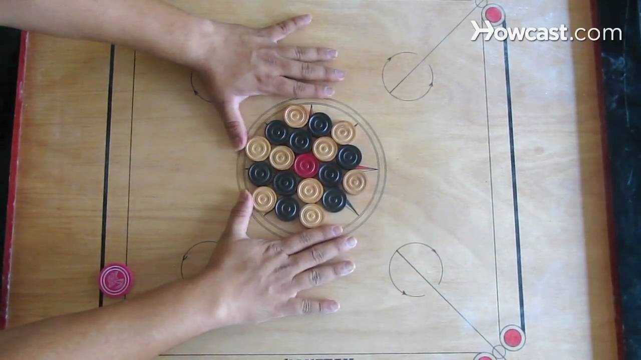 How to Play Carroms