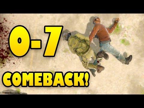 0-7 COMEBACK - FOCUS NICK FOCUS! CS GO COMPETITIVE SUB GAME