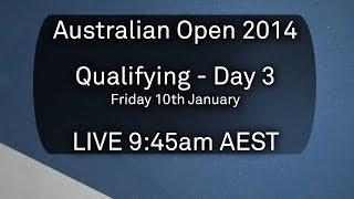 Australian Open: Day 3 Qualifying - Australian Open 2014