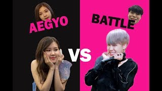 Aegyo Battle (JiRose) | BlackBangtan Battle Part 1| Ships Edition Video