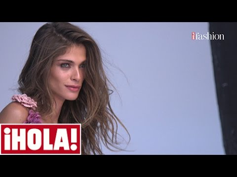 Así se hizo el reportaje de Elisa Sednaoui para ¡HOLA! Fashion