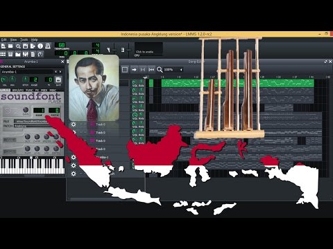 Indonesia Pusaka versi Angklung