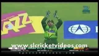 Angelo Mathews 80 against Pakistan Match Winning Performence
