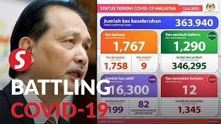 Covid-19: Numbers nationwide continue to rise, record high of 607 in Sarawak