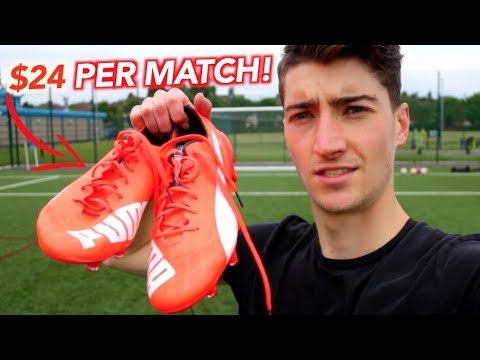 Why It Costs £0.27 A Minute To Wear These Football Boots