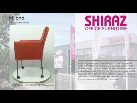 365º view | Vergaderstoel Milano | Shiraz Office Furniture