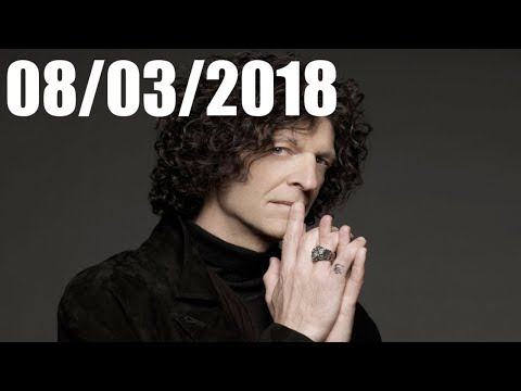 Howard Stern Show August 03 2018
