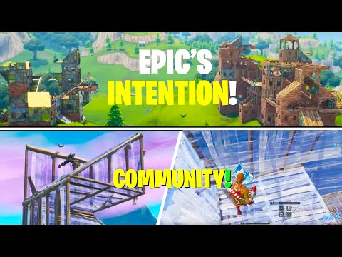 Epic's Original Intentions For Fortnite Were Different From Reality... (BRING BACK OG Fortnite Vibe)