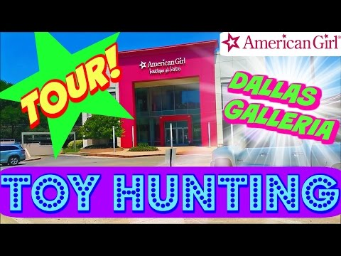 AMERICAN GIRL STORE DALLAS Toy Hunt Tour! AG Girl Of The Year - Wellie Wishers BOUTIQUE And BISTRO