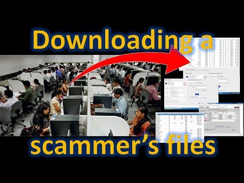 Downloading a scammer's files [Re-upload]