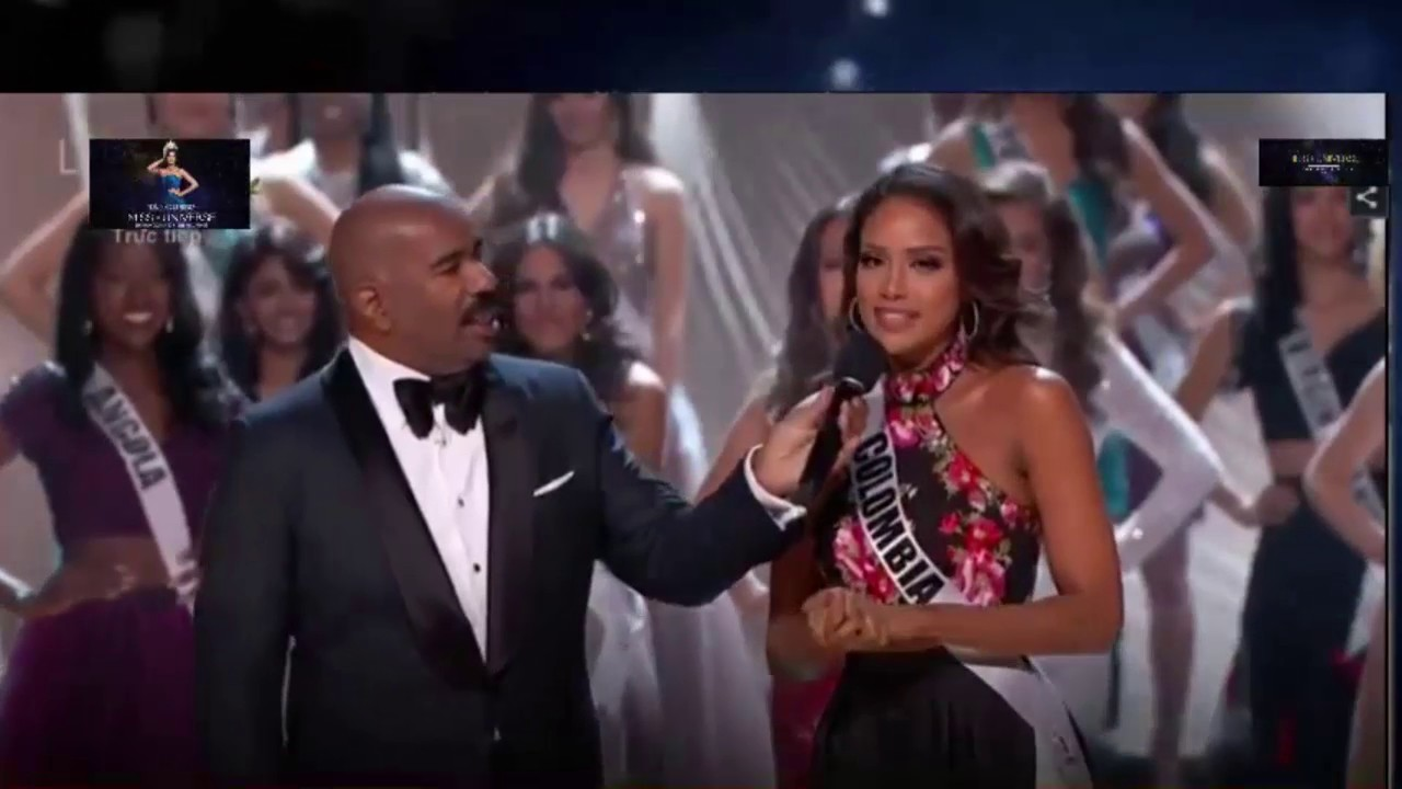 See the Awkward Moment When Steve Harvey Announced the Wrong Miss Universe Winner on Live TV