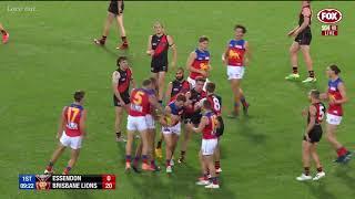 Essendon Vs Brisbane All Goals And Highlights First Half | Round 9 2020