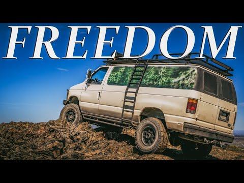 4x4 Van Life - Freedom is Necessary