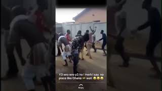 Wrowroho video, Ghanaians EEiii hmmmmm