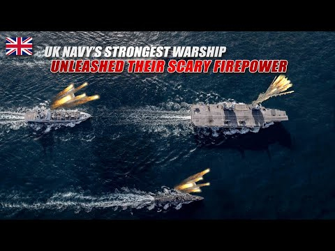 UK Navy's Warships Unleashed Their Lethal Firepower, Targeted The Island!