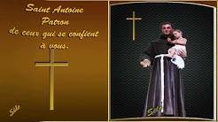 Saint Antoine Patron de ceux qui se confient à vous. Livret sonore. (Sélo).