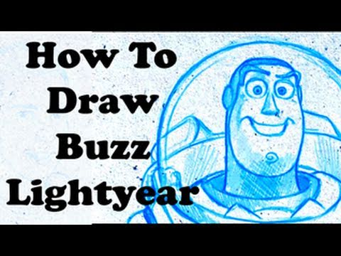 how to draw buzz lightyear with kyle lambert