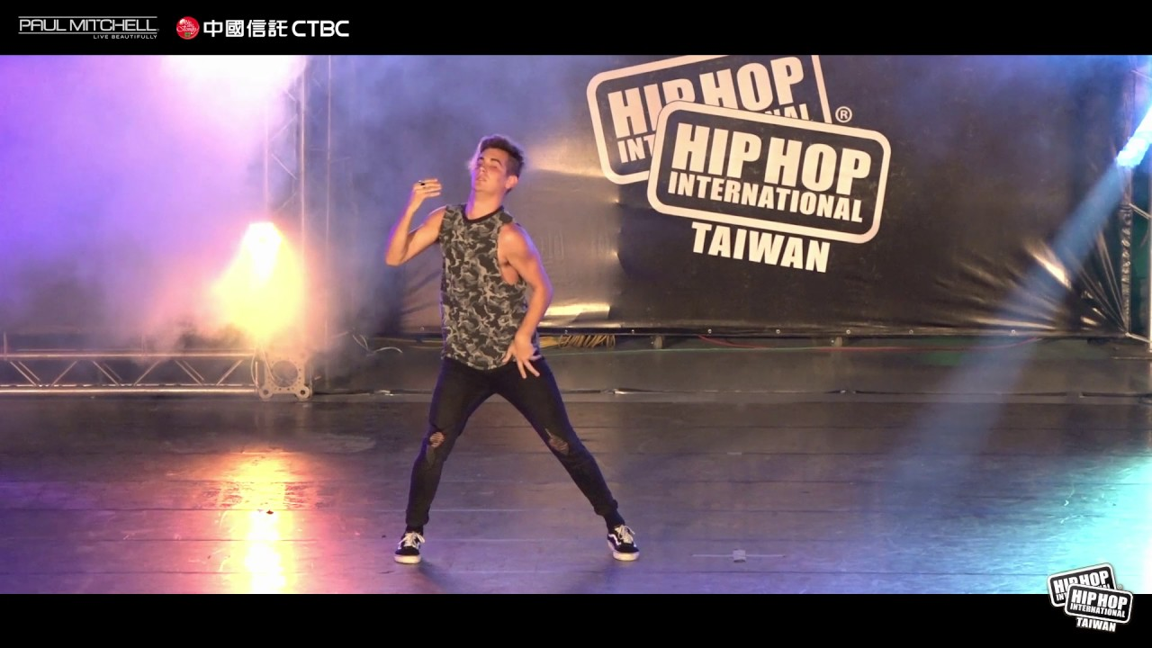 Kiel Tutin Nz Judge Demo 2017 Hip Hop International Taiwan