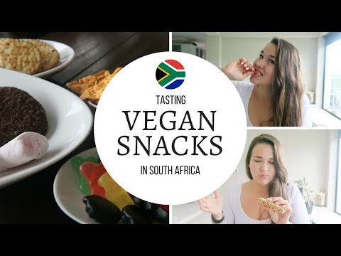 TASTING VEGAN SNACKS IN SOUTH AFRICA