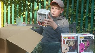 wwe toys funko pops unboxing