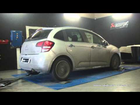 Citroen C3 1.6 hdi 90cv Reprogrammation Moteur @ 115cv Digiservices Paris 77 Dyno