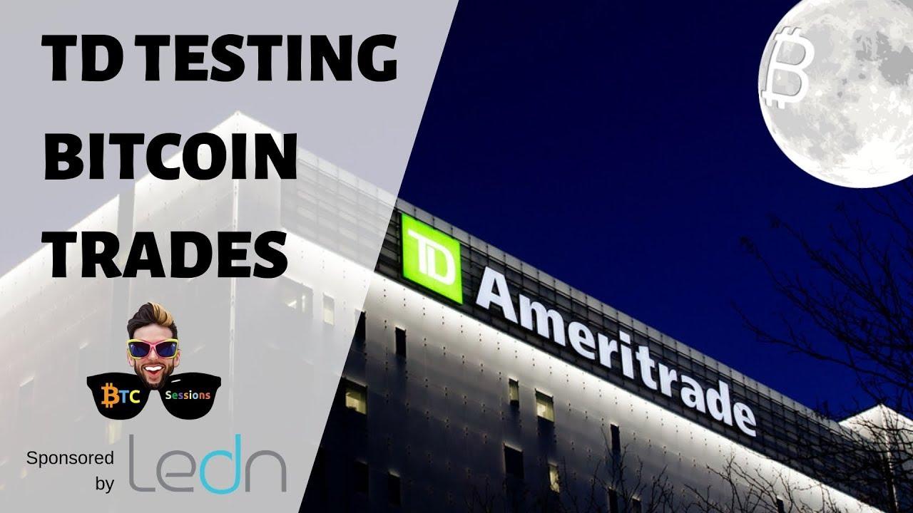 ameritrade bitcoin trading