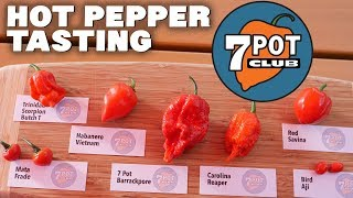 My 7 Favorite Red Hot Peppers Reviewed