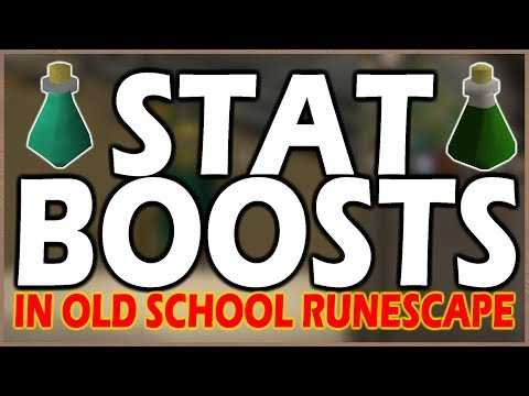 [OSRS] Everything That BOOSTS Your STATS In Old School Runescape