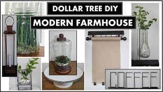 8 DOLLAR TREE DIY MODERN FARMH…