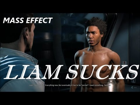 Mass Effect: Andromeda - Everybody Hates Liam (Nomad Conversation Montage)