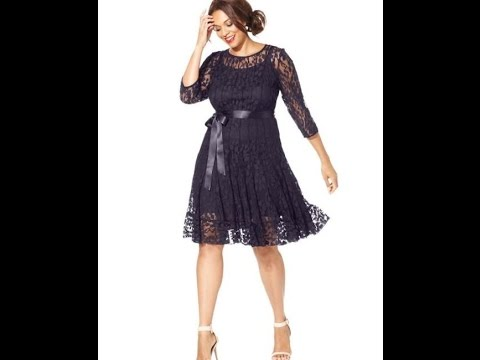 96864542b4 macys womens dresses plus size - YouTube