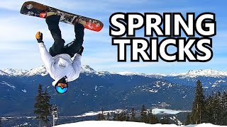 Snowboard Trick Tips in Spring Park