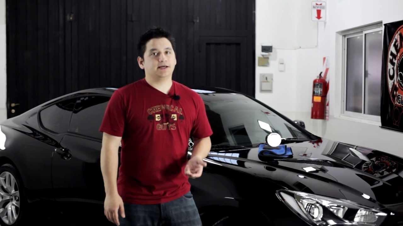 Chemical Guys Black Wax Liminous Glow Infusion Hyundai