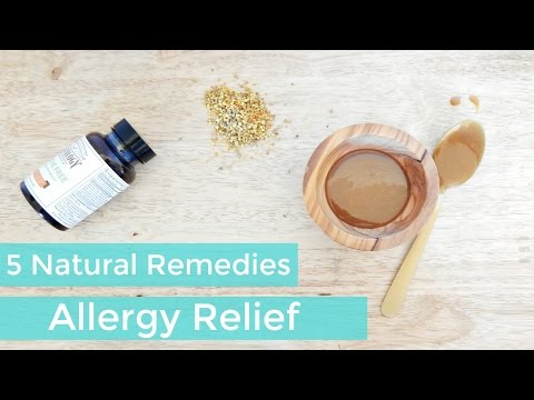 5 Natural Remedies For Allergy Relief: Cure Allergies Naturally – Holistic & Green Beauty Health