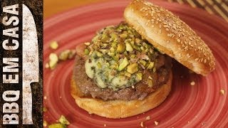 Receita De Blue Cheese Burger - Burger C/ Gorgonzola E Bacon