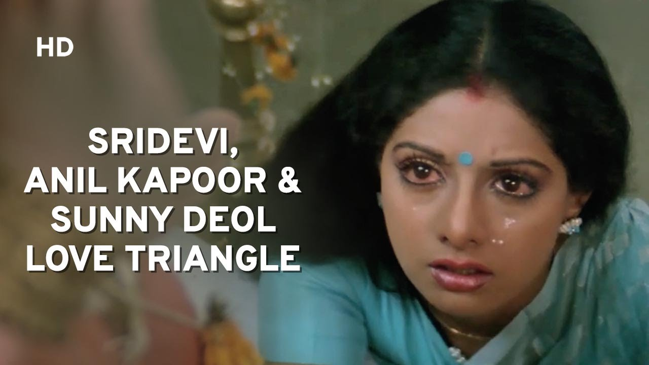Download Love Triangle - Sunny Deol Sacrifice His Love For Friendship - Ram Avtaar - Sridevi - Anil Kapoor
