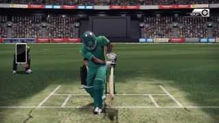 Don Bradman Cricket14 Gameplay - DRS