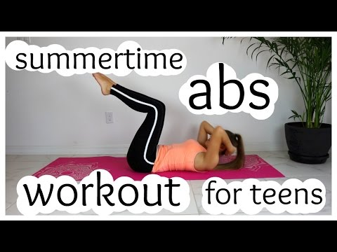Abs workout for teens
