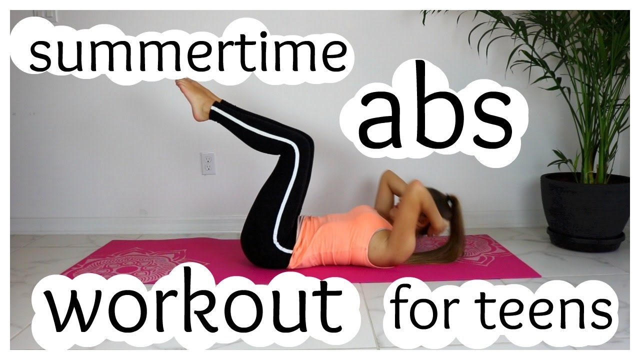 Ab exercises for teens