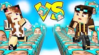 LA CORSA DE  LUCKYBLOCK D  LYON Minecraft