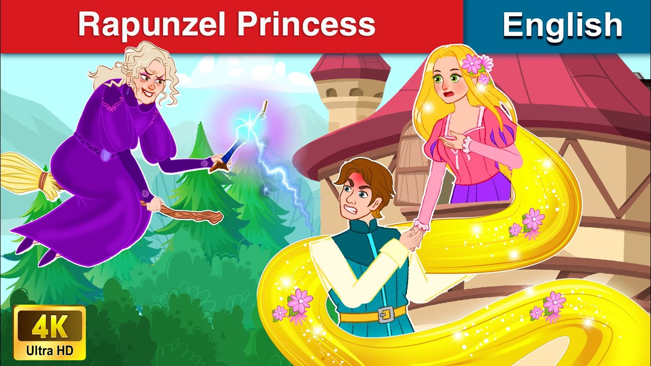 Rapunzel Princess 👸 Bedtime stories 🌛 Fairy Tales For Teenagers | WOA Fairy Tales