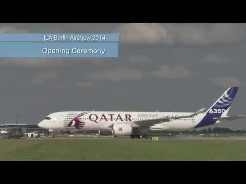 Qatar Airways - Airbus A350 at ILA Berlin Air Show 2014