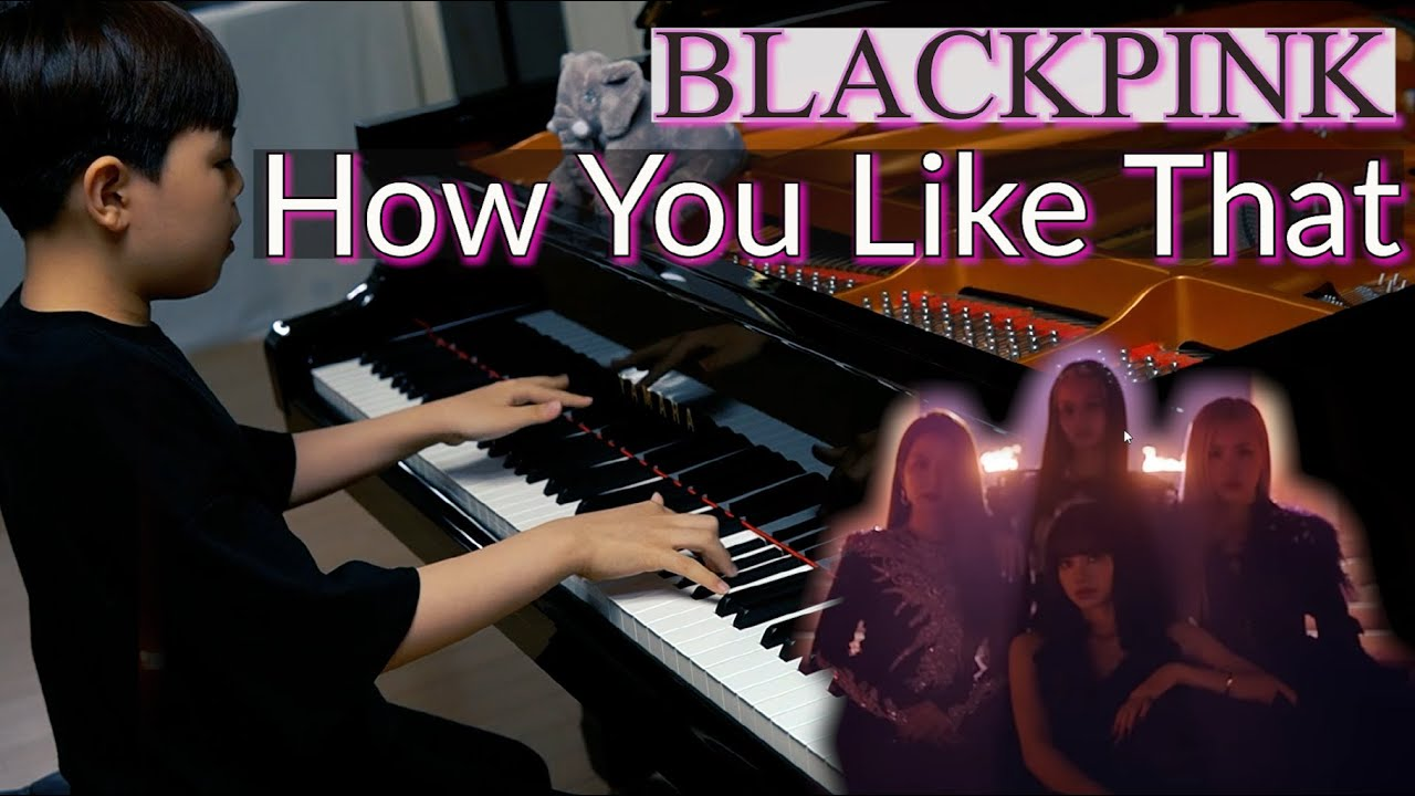 BLACKPINK - How You Like That (Piano Cover by JichanPark)