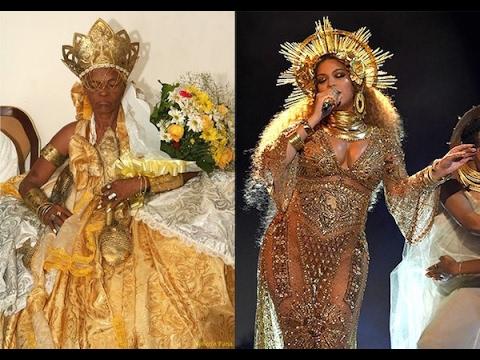Beyonce channels Yoruba Goddess Oshun at Grammy's Performance