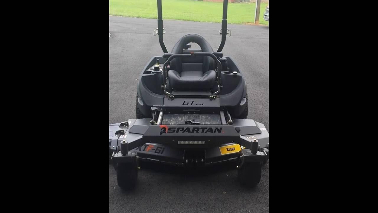 Spartan SRT-XD Mower