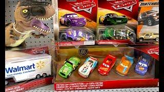 NEW Cars 3 Toys Hunt & GIANT Jurassic World Fallen Kingdom Toys - Disney Pixar Cars 3 Toy Hunting
