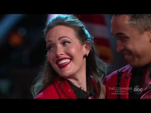 "HD Tinashe and Brandon ft. Amy Purdy ""Tango"" - DWTS Week 4: Trios | Season 27"