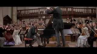 Великий Ричард Чемберлен исполняет 1-й концерт Чайковского, фильм Music Lovers (1971г.)